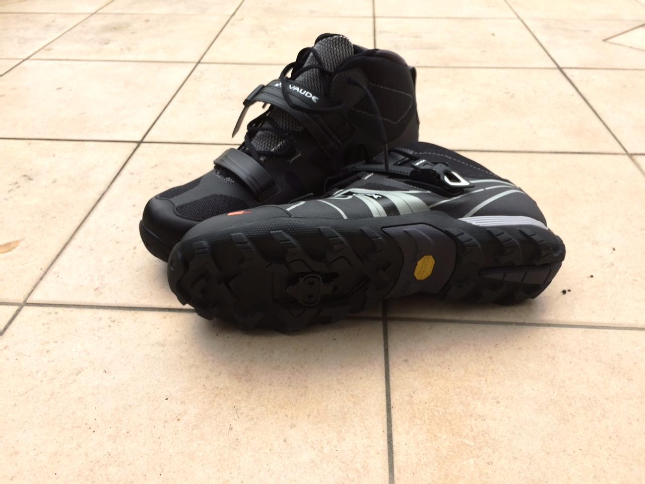 MTB-Schuhe Vaude Taron Sympatex Mid im ersten Test