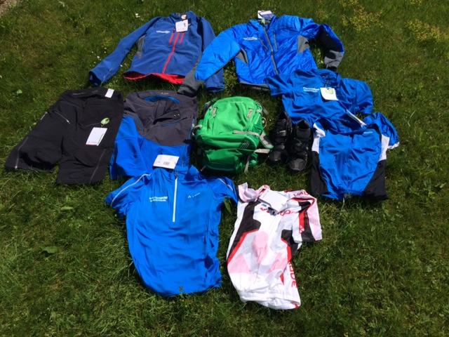 Vaude-Ausrüstung MTB-Alpencross